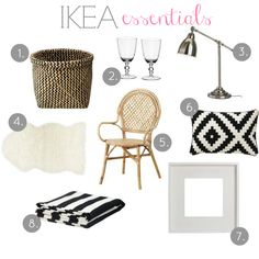 Classic Ikea essentials to complete any room!