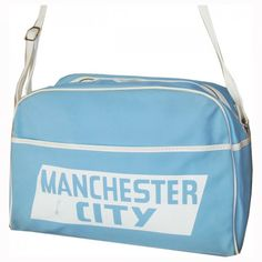 e381505c69 Manchester City football club vintage 1970's unused sports bag holdall    Candy Says