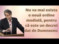 Nu va mai exista o nouă ordine modială, pentru că este un decret dat de Dumnezeu (Daniel Brânzei) - YouTube