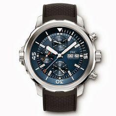 Absolutely love this thing. IWC Aquatimer CHRONOGRAPH Edition Expedition Jacques-Yves COUSTEAU