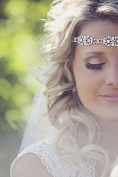 Beautiful bridal makeup: http://www.stylemepretty.com/illinois-weddings/belleville/2014/06/24/rustic-meets-vintage-diy-wedding/ | Photography: Redeeming Love - http://www.redeeminglovephotography.com/