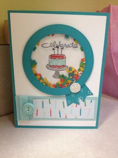 Class card using Endless birthday wishes SU.  Circle frame die MFT