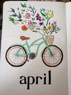 Its April, my dudes : bulletjournal