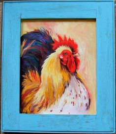 An original oil painting on a repurposed by AnnettaGregoryArt, $89.00
