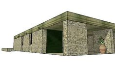 Aris Konstantinidis - Vacation home in Anavyssos 3d Warehouse, Outdoor Furniture, Outdoor Decor, Outdoor Storage, Homes, Vacation, Architecture, Home Decor, Architects