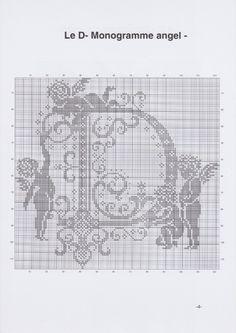 Gallery.ru / Фото #7 - JD327 - Monogrammes Angels - lyulnar