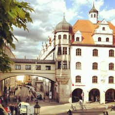View from Viktualienmarkt