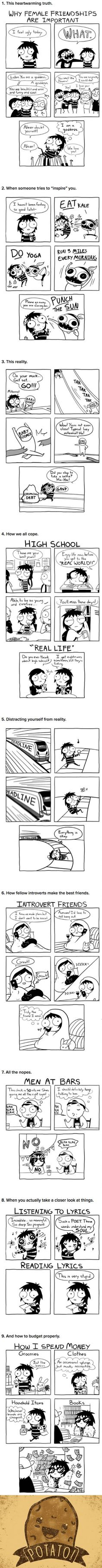 9 Comics That Are So Relatable It Hurts (Sarah Andersen)