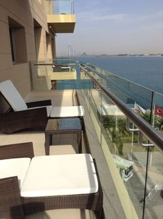 Senior suite double balcony rixos the palm feb 2015