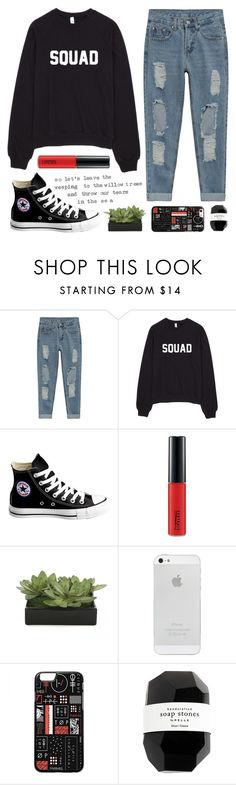 """""""10K GIVEAWAY! (rtd)"""" by faith-and-metanoia ❤ liked on Polyvore featuring Converse, MAC Cosmetics, Lux-Art Silks and Cassia"""