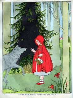 Little Red Riding Hood- illustrated by Margaret Evans Price