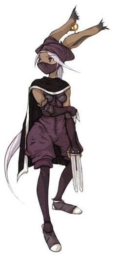 View an image titled 'Viera Assassin Art' in our Final Fantasy Tactics Advance art gallery featuring official character designs, concept art, and promo pictures. Viera Final Fantasy, Final Fantasy Xii, Fantasy Armor, Game Character, Character Concept, Character Ideas, Final Fantasy Tactics Advance, Game Concept Art, Monster Design