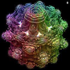 Fractal orb designs