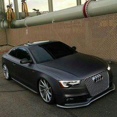 RS5 ➰uattro, Matte Black Audi