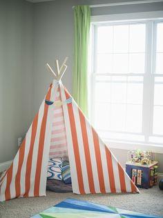 Tipi nähen: eine kreative Idee für das Kinderzimmer | *-*Neue Trend ...