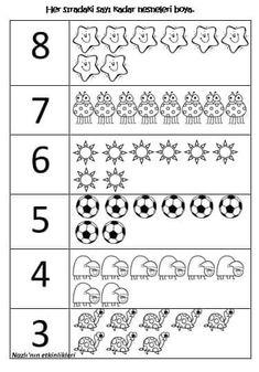 3_4_5_6_7_8 sayıları boyama