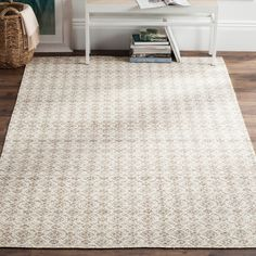 Safavieh Isa Kilim Rug, Gray and Ivory, 5'x8' modern-area-rugs