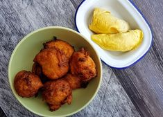 How to Make Durian Fritters (Jemput-Jemput Durian) - Jackie M Malaysian Food, Malaysian Recipes, Banana Fritters, Asian Recipes, Ethnic Recipes, Hot Pot, Rice Noodles, Other Recipes, Original Recipe
