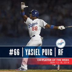 Puig NL Player of the Week!