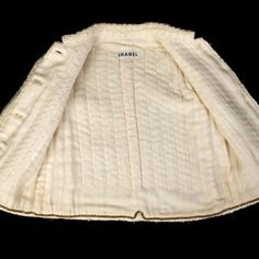 Interior of (Chanel) jacket (1960's)