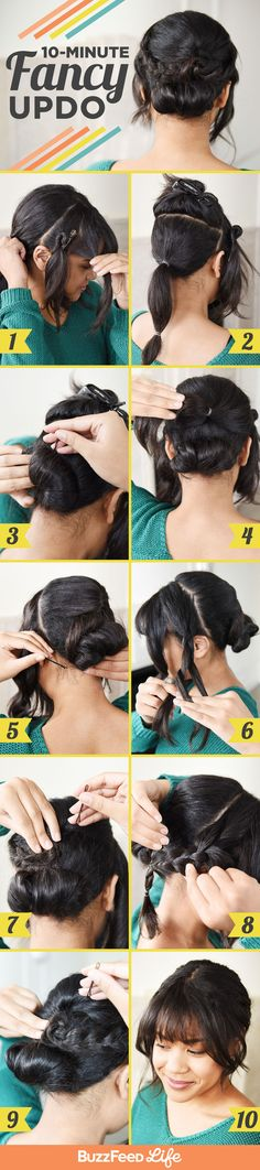 10-Minute Fancy Updo