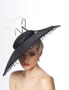 Duet Hat from James Lock and Co Hatters - A Gorgeous Formal Race Day Outfit Completer