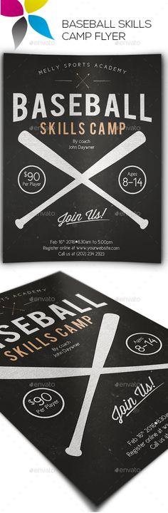 Baseball League Flyer Template Baseball league, Flyer template - baseball flyer