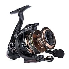 Gosccess Saltwater Fishing Reels Stainless Steel Spinning Reels Left/Right Interchangeable Fishing Reel - 2000  http://fishingrodsreelsandgear.com/product/gosccess-saltwater-fishing-reels-stainless-steel-spinning-reels-leftright-interchangeable-fishing-reel/?attribute_pa_size=2000  SMOOTH PERFORMANCE—high quality, corrosion resistant, stronger precision brass pinion gears, smooth, dependable and light weight ultra smooth reel spinning STRONGER—fold rocker arm, Lef