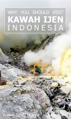 Full practical guide to the sulphur mine of Kawah Ijen, Indonesia - Should you visit with or without a tour?