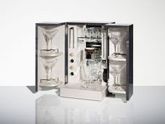 The Cocktail Cabinet - A gift for the ultimate Hostess with the Mostest. With delicate crystal martini glasses, crystal cocktail shaker and silver plaque with our favourite cocktail recipes. Christmas Gift Guide, Christmas Gifts, Luxury Definition, Beautiful Hands, Bathroom Medicine Cabinet, Handcrafted Jewelry, Luxury Branding, Luxury Homes, Cocktail Shaker