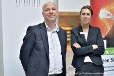 Deamteam von promotion Nordhessen. Inga Werthmann und Michael Schapiro