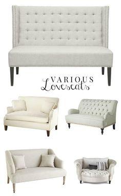 Various Loveseats, Sofas, HomeCreations.pl