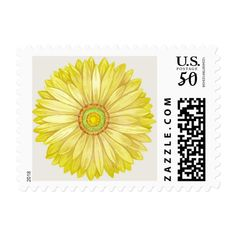 Add stamps to all your different types of stationery! Find rubber stamps and self-inking stamps at Zazzle today! Wedding Sets, Wedding Colors, Retro Gifts, Daisy Chain, Self Inking Stamps, Gerbera, Retro Fashion, Stationery, Colour Yellow
