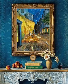 A Different Light by Jenness Cortez.  Homage to Vincent van Gogh.