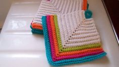 Bright and Delightful Dishcloths