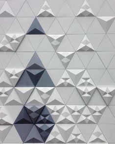 More great tiles! We  the Kaza Tre tiles from @domustiles  #cdw2016 #clerkenwelldesignweek #clerkenwell #london #design #tiles #ihavethisthingwithtiles #tileporn #tileaddiction #3dtiles #3dsurface #3D by beyond_comms