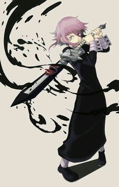 Crona and his deamon sword sword