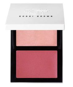 """Dab the deeper tone on the apples of cheeks and tap the lighter one on cheekbones as a highlighter. """"The formula is easy to blend, but it didn't fade or migrate,"""" said a tester. Available in four combos."""