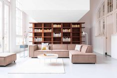 Sommer By SIDDE › Design bankstellen kopen › By SIDDE Shelving, Bookcase, Divider, Loft, Couch, Living Room, Bed, Furniture, Home Decor