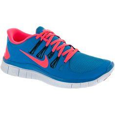 Nike Free 5.0+ Men Blue Hero/Atomic Red/Black/Blue Tint : Holabird Sports