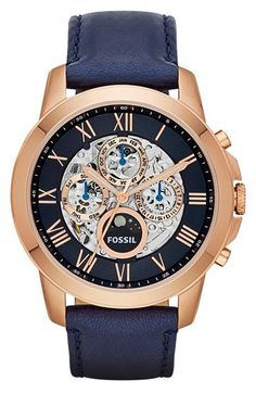 ♥ #Fossil #Watches exclusively at #CapriJewelersArizona ~ www.caprijewelersaz.com ♥ Gorgeous Navy Watch