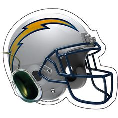 Prove that you're the ultimate Los Angeles Chargers fan with this Helmet car magnet! It features authentic graphics that'll boast your die-hard team pride. Everyone will know you're a life-long fan with this festive Los Angeles Chargers car magnet! Football Gear, Football Season, Football Helmets, All Nfl Teams, Sports Teams, Nfl Los Angeles, New Era Hats, San Diego Chargers, Nfl Shop