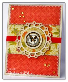 I love  this card. I need to dig out my sewing mashing and do more zig zag stitching on my cards :)