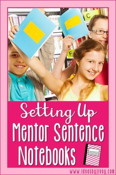 Help students stay organized with their mentor sentences and create a useful resource they can utilize during writing time. Writing Mentor Texts, Mentor Sentences, Writing Mini Lessons, Reading Lessons, Guided Reading, Math Lessons, 3rd Grade Classroom, Classroom Ideas, School Classroom