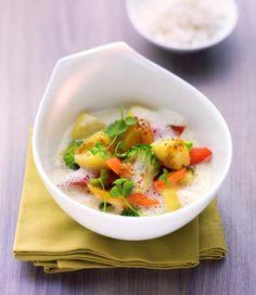 Kartoffel-Gemüse-Curry mit Kurkuma und Koriander