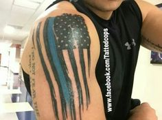 law enforcement tattoos police