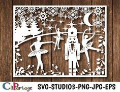 CHRISTMAS NUTCRACKER Svg, Nutcracker ballet svg, Christmas templates svg, Christmas decorations svg, Christmas file cricut and silhouette Nutcracker Image, Nutcracker Christmas, Christmas Paper, Christmas Crafts For Kids, Christmas Themes, Christmas Cards, Kirigami, Christmas Window Display, Christmas Stencils