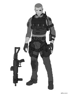 A more futuristic variant of my character Gray with gear inspired by Black ops 3 Gray 1 variant Character Creation, Character Concept, Character Art, Armor Concept, Concept Art, Arte Nerd, Sci Fi Armor, Future Soldier, Sci Fi Characters