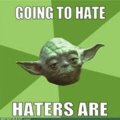 Yoda Haters Gonna Hate