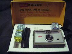 Remember: Kodak Instamatic camera with flashcubes